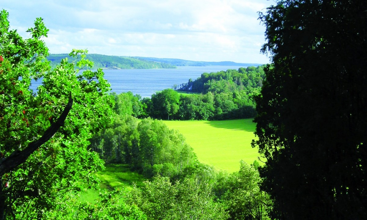 Utsikt från Kråkeboberget